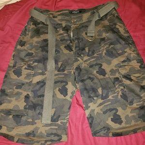American Bazi Camo shorts